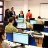 El alcalde visit� los nuevos y renovados Telecentros de Legan�s