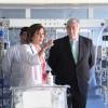 """Consejero de Sanidad y edil de Asuntos Sociales han visitado los nuevos paritorios del Hospital """"Severo Ochoa"""""""