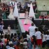 Elegancia y glamour desfilan en las calles del centro de Leganés