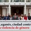 Leganés conmemora el 25 de noviembre con un acto de condena de la violencia contra la mujer