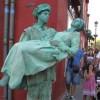 """""""Romeo y Julieta"""" gan� el XIII Concurso de Estatuas Humanas (galer�a de im�genes)"""