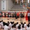 La selecci�n espa�ola de baloncesto sub18 prepara en Legan�s el Europeo