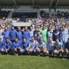 Los veteranos del C.D. Legan�s y el Real Madrid brindaron un gran espect�culo en el homenaje a Juanito (im�genes)