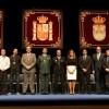 Victoria Pavón y Asier Garitano, nombrados Hija Predilecta e Hijo Adoptivo en el acto del Día de la Constitución